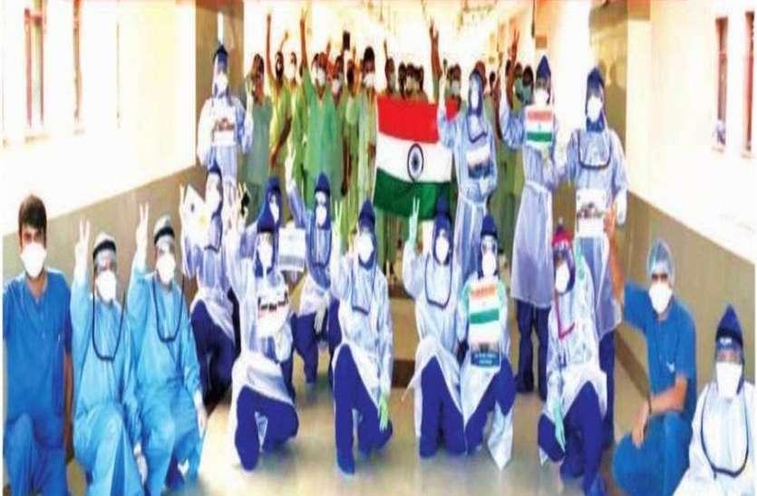 BSF के 42 जवानों ने एम्स से डिस्चार्ज होने पर लगाए ठुमके, इधर 6 और जवान संक्रमित