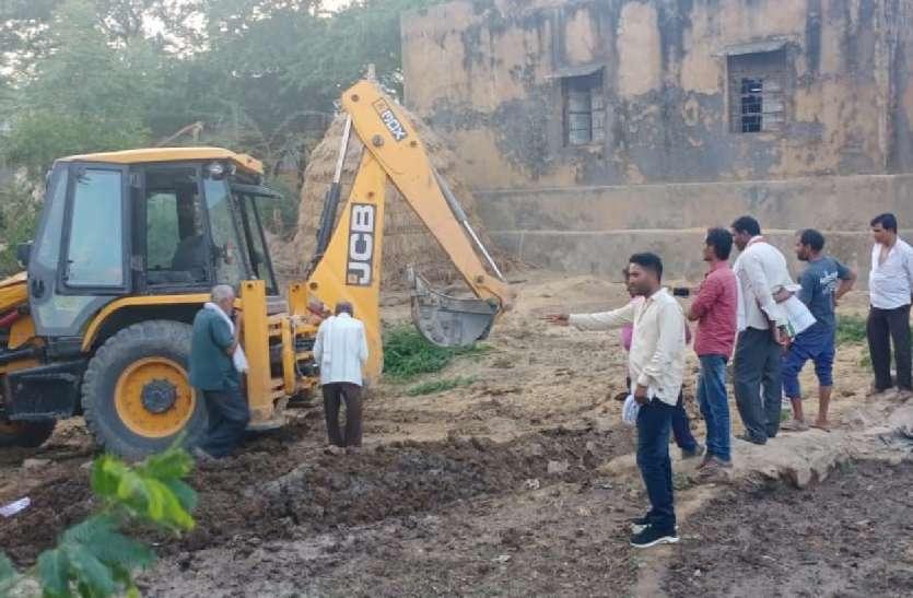 अलोद में पेयजल योजना का कार्य शुरू, गांव में बिछेगी नई पाइपलाइन