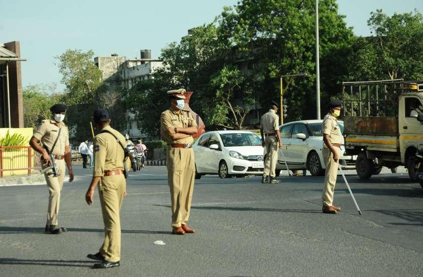 lockdown : पुलिस आयुक्त स्वंय एक-एक घंटा चौराहे पर देंगे ड्यूटी