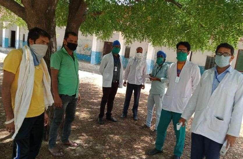 राजस्थान के पहले हॉट स्पाट क्षेत्र से इस गांव में आए 8 लोग, दशहत में ग्रामीण