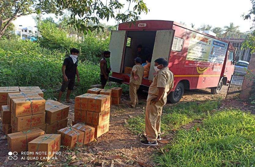 India post: बागों से मंडी तक आम भी पहुंचा रहा है डाक विभाग
