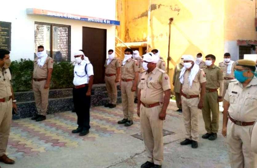 नागौर पुलिस की तम्बाकू उत्पाद बेचने वालों के खिलाफ धुंआधार कार्रवाई