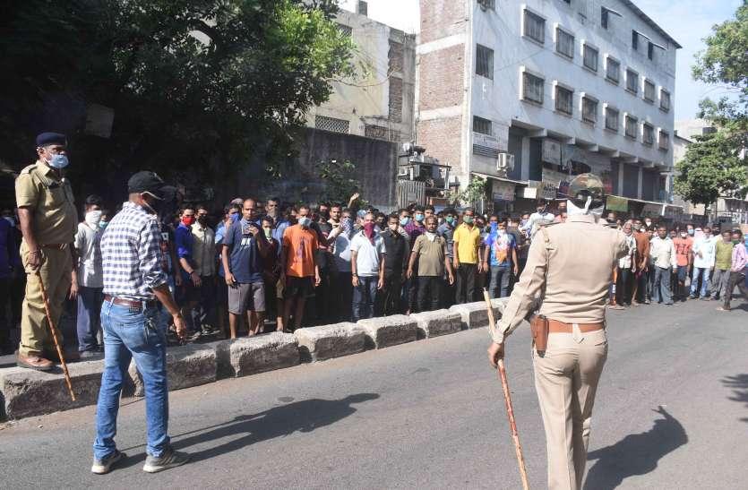 lockdown : ट्रेन नहीं मिलने से नाराज श्रमिकों ने मचाया हंगामा