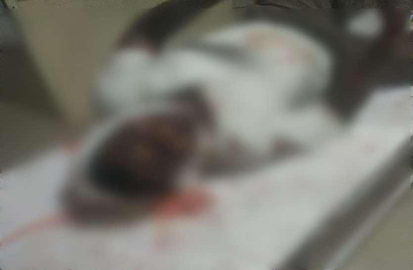 चप्पे-चप्पे पर पुलिस तैनात फिर भी परिवार पर हमला कर महिला को उतारा मौत के घाट, मची चीख पुकार