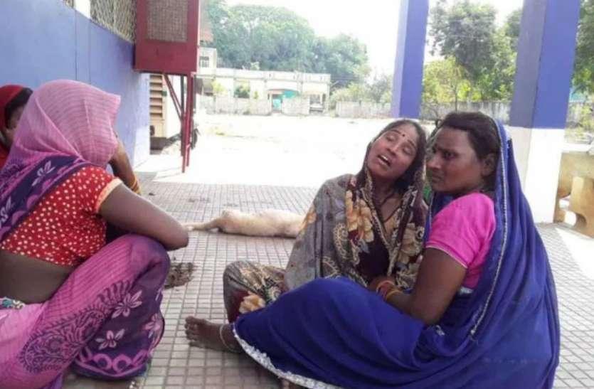 Worker dies:वर्धाघाट खदान में अवैध खनन के दौरान रेत धसकने से मजदूर की मौत