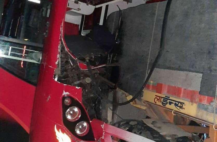 तेलंगाना से चलकर घर जा रहे मजदूर की सड़क हादसे में मौत