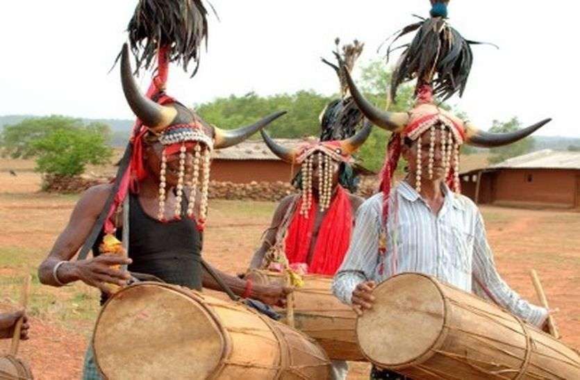 आदिवासी क्षेत्र में अब भी है भांजगड़े की परंपरा