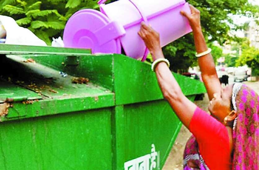 जयपुर में 550 में से 160 हूपर चालक हड़ताल पर, चार दिन से 23 फीसदी शहर से नहीं उठा कचरा