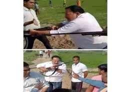 Sambhal: सपा नेता और बेटे की सरेआम गोली मारकर हत्या, गांव में कोहराम