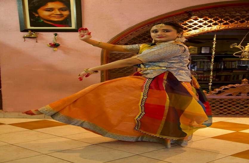 जयपुर घराने के सौन्दर्य को कथक से किया बयां