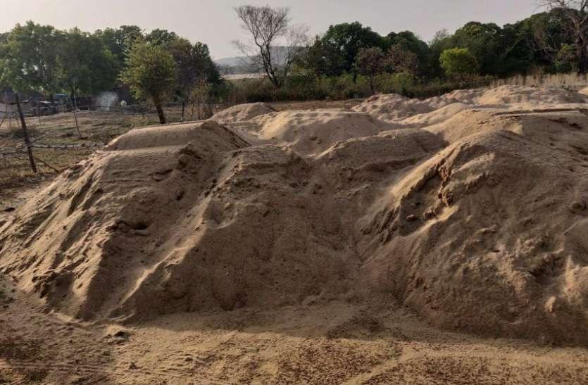 रेत भंडारण की मिली छूट, ठेकेदारों को बड़ी राहत