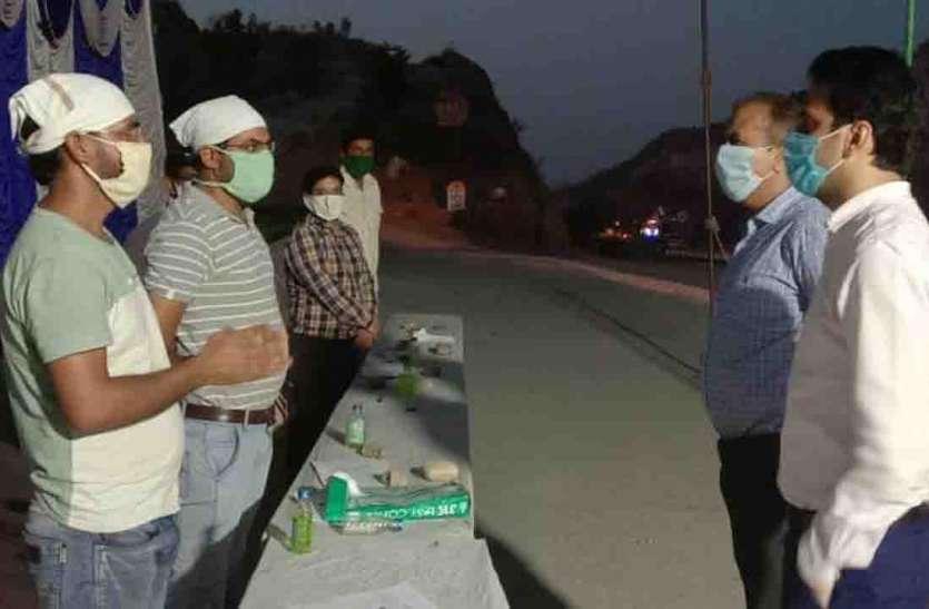 स्वायत्त शासन सचिव दैथा ने किया उदयपुर सीमा का अवलोकन