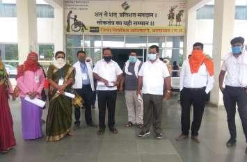 भारतीय मजदूर संघ ने कालादिवस मनाते किया आंदोलन