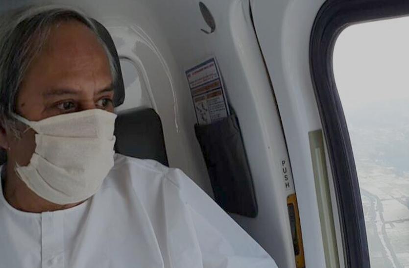 ओडिशा में Cyclone Amphan से लाखों लोग हुए प्रभावित, CM ने किया हवाई सर्वे