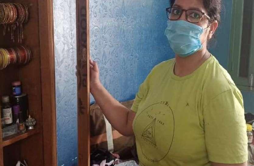 Coronavirus आभूषण, नकदी के साथ मास्क, सेनीटाइजर, साबुन भी ले गए चोर