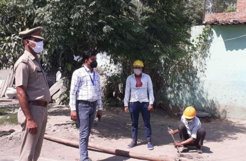 सहारनपुर में दिल्ली से लाैटे परिवार के तीन सदस्य निकले पॉजिटिव, पूरे माेहल्ले काे कराया जा रहा सील