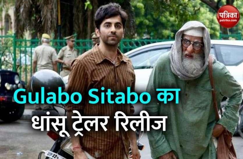 Gulabo Sitabo Trailer: Amitabh Bachchan के लिए Ayushmann Khurrana बने दीमक, बेहतरीन एक्टिंग के साथ कॉमेडी का तड़का