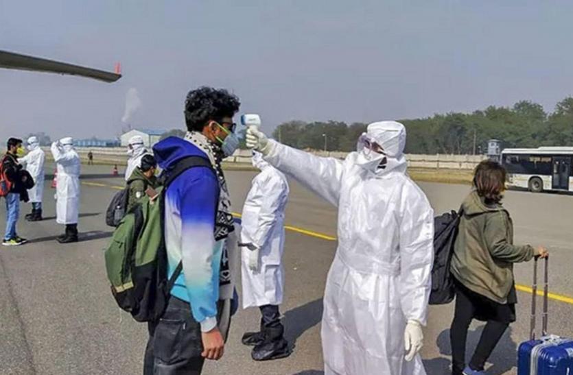 कोरोना संक्रमण : प्रदेश के बाहर से जिले में पहुंचे50 हजार लोग, 1301 का लिया सैंपल