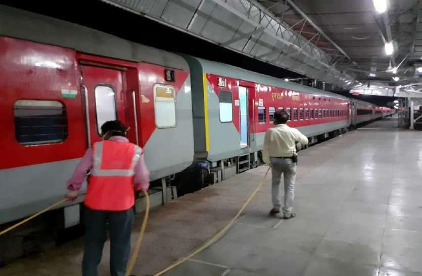 अमृतसर से 1200 मजदूरों को लेकर ट्रेन पहुंची सागर
