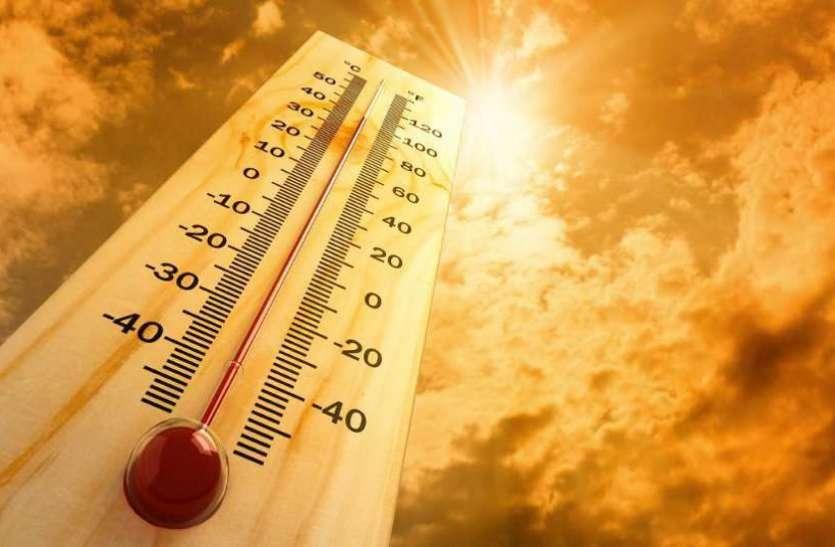 गर्मी का कहर : रायपुर में तापमान 44 डिग्री सेल्सियस पहुंचा, सीजन का सबसे गर्म दिन
