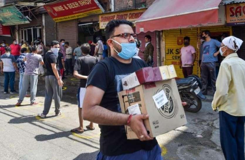 दिल्ली: शराब पर लगे 'कोरोना टैक्स' ने भरी सरकार की तिजोरी, 110 करोड़ रुपए से ज्यादा की हुई कमाई