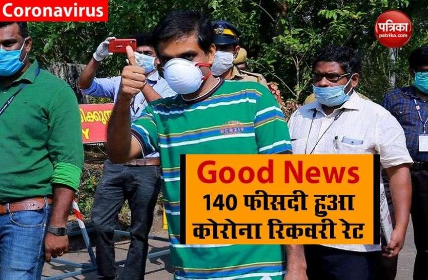 कोरोना रिकवरी रेट में हुई अप्रत्याशित बढ़ोतरी, अहमदाबाद और झज्जर में तेजी से सुधर रहे हालात
