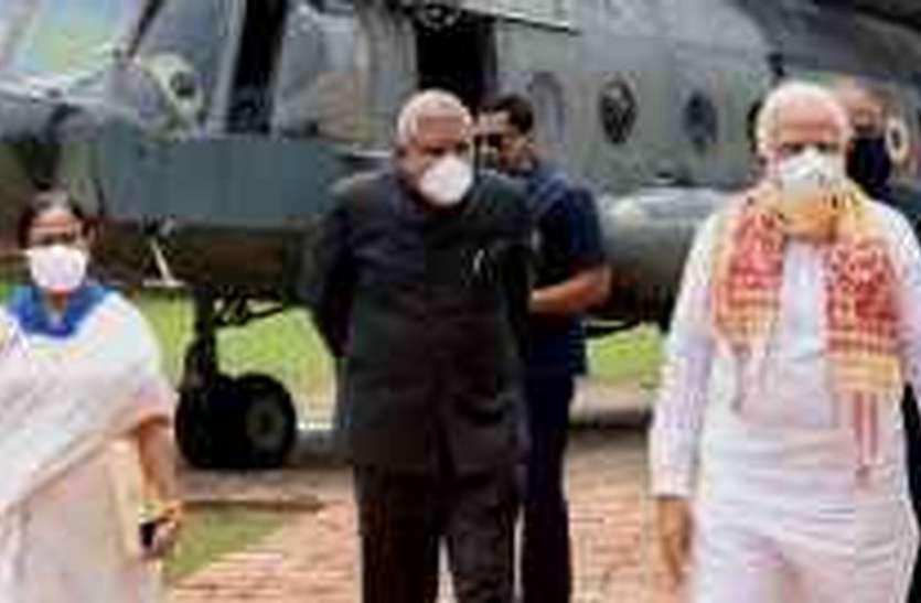 बंगाल के साथ पूरा देश : मोदी