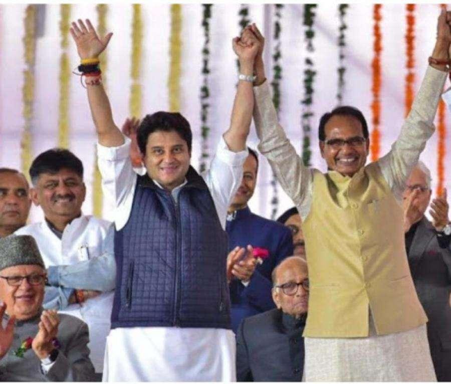 सिंधिया के भाजपा में आते छिड़ी रार, उपचुनाव से पहले घोर विरोधियों की बंद कमरे में बैठक!
