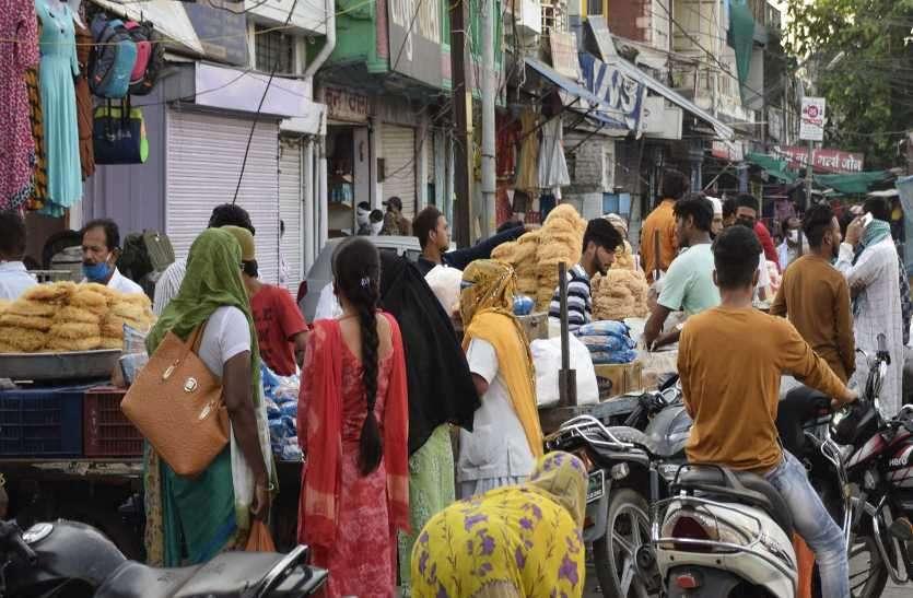 बाजार में रौनक लौटी, दुकानदार और ग्राहकों की लापरवाही पड़ सकती है महंगी