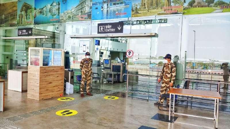 bhopal airport news