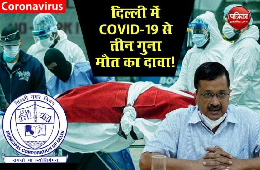 केजरीवाल पर भाजपा का बड़ा आरोप, COVID-19 से मौत के आंकड़े छिपा रही दिल्ली सरकार