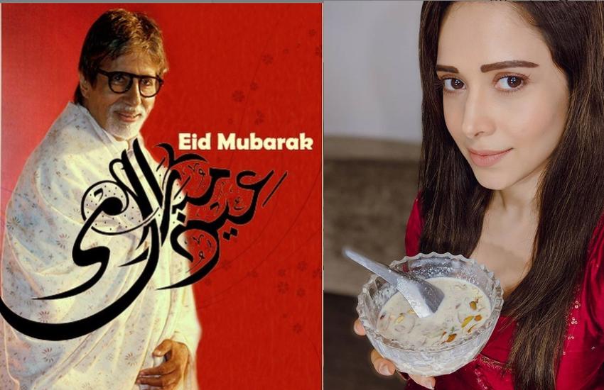 बॉलीवुड सेलेब्स ने दी ईद उल फितर की मुबारकबाद