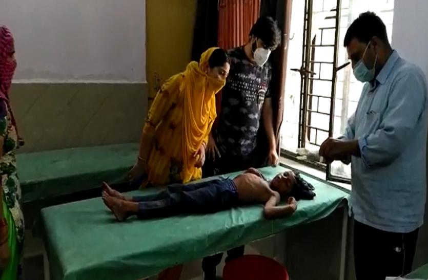 लॉकडाउन के बीच दो पक्षों में फायरिंग, बच्चा समेत दो लोग हुए घायल