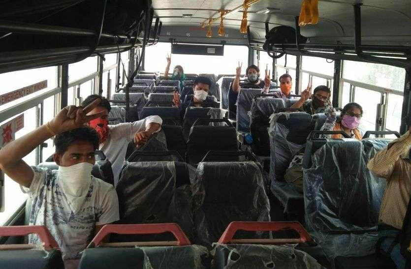 यात्रियों की संख्या में हुआ इजाफा, दूसरे दिन दो गुना तक पहुंचा आंकड़ा