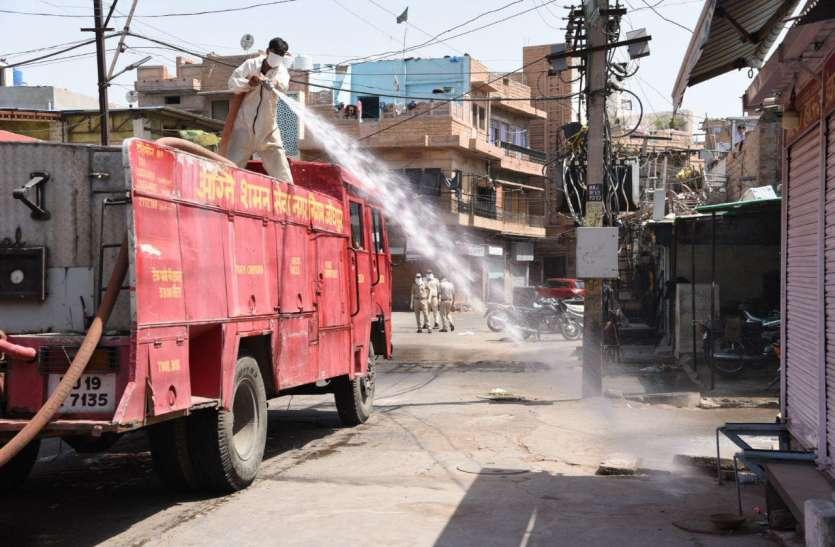 होम डिलीवरी से हुआ संक्रमण का 'लॉकडाउन', जोधपुर का 50 प्रतिशत अब तक है कंटेनमेंट जोन