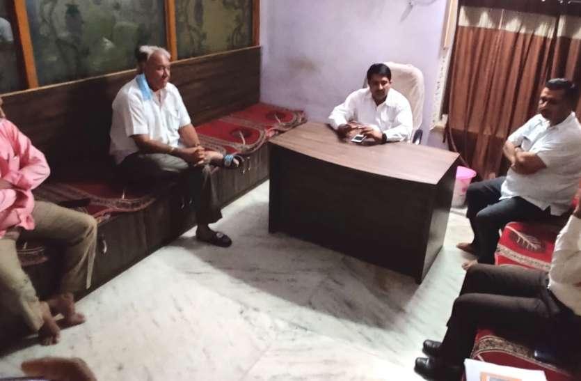 ईद से पहले केबिनेट मंत्री ने ली अधिकारियों की समीक्षा बैठक