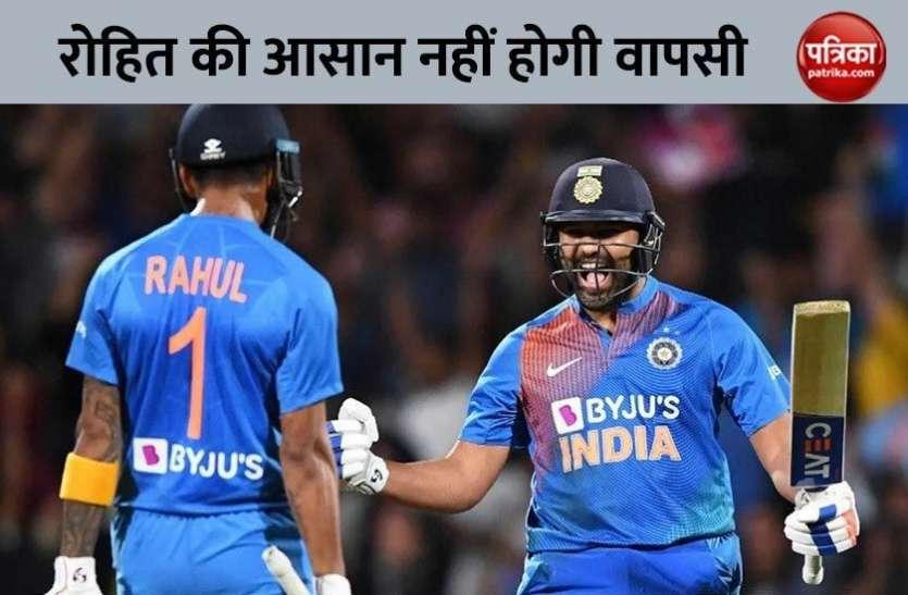 दोबारा क्रिकेट शुरू होने पर Rohit Sharma की वापसी में होगी मुश्किल, सलामी बल्लेबाज ने खुद दी जानकारी