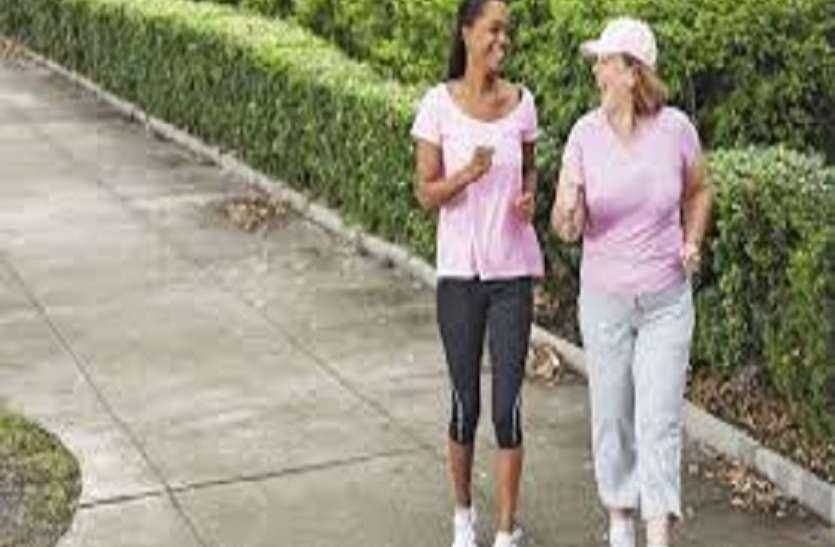 महिलाओं के लिए 7500 कदम रोजाना की वॉक भी फायदेमंद