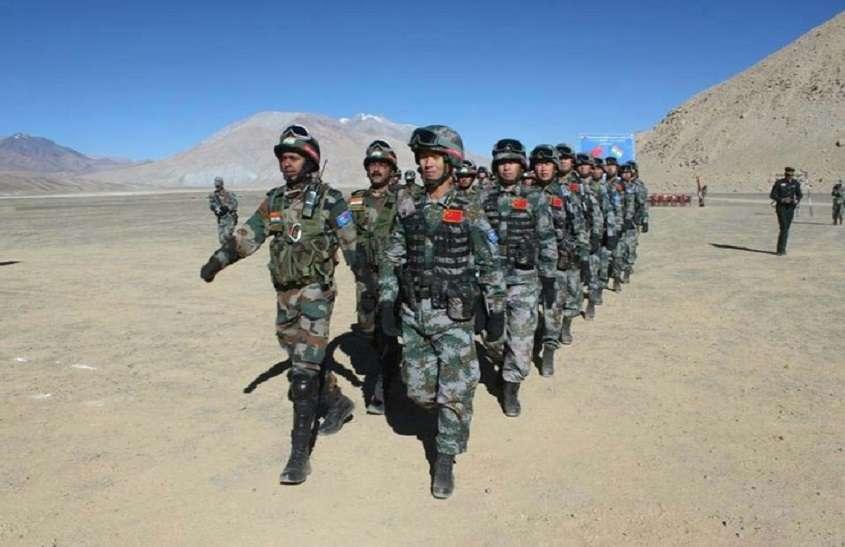 लद्दाख में तीन जगहों पर घुसपैठ, चीनी सेना ने 100 टेंट गाड़े