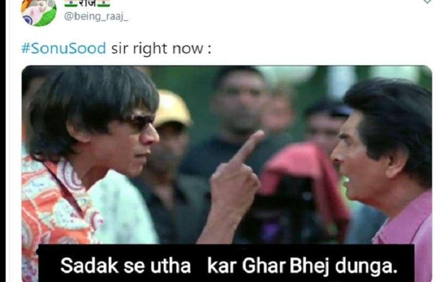 Memes On Sonu Sood