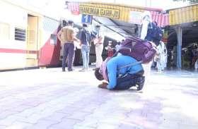 ट्रेन रवाना होते ही श्रमिकों के परेशान चेहरों पर लौटी मुस्कान, फिर आने का वादा कर प्रवासी श्रमिकों ने भटनेर की धरा को किया नमन