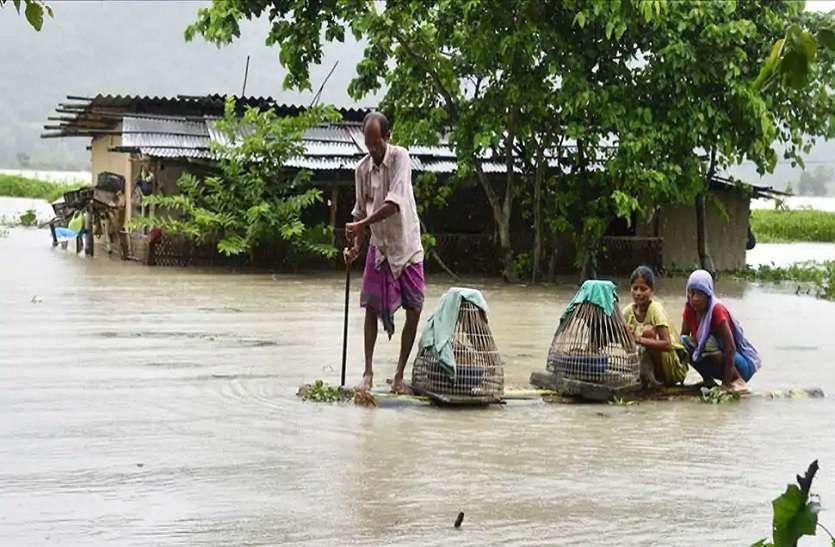 असम में जारी है विपदाओं का कहर, अब 7 जिलों में बाढ़
