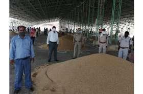 प्रदेश की इस कृषि उपज मंडी में अनाज की नीलामी शुरू, 19 व्यापारियों ने खरीदा दो हजार क्विंटल अनाज