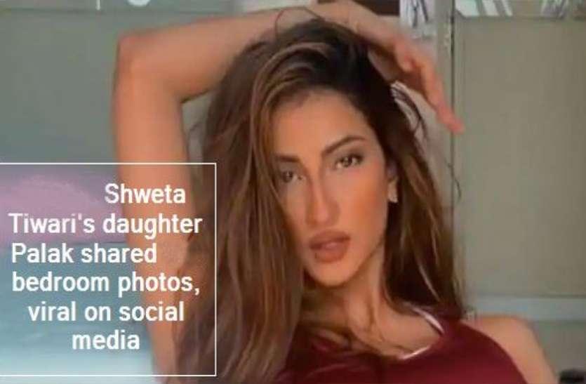 श्वेता तिवारी की बेटी पलक ने शेयर की अपने बेडरूम की प्राइवेट तस्वीरें, हुई वायरल, मचा बवाल