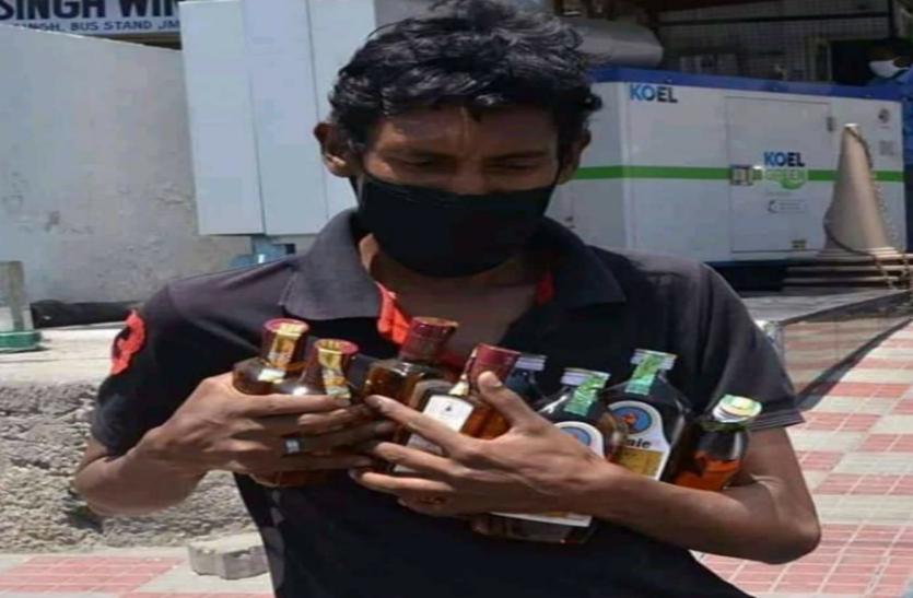 जम्मू में शराबियों का जश्न, छह दिन में गटक गए करोड़ों की शराब, सभी रिकॉर्ड तोड़े