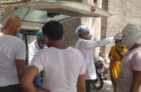 चिकित्सा विभाग हुआ सर्तक, गांवों में कर रहा स्क्रीनिंग....