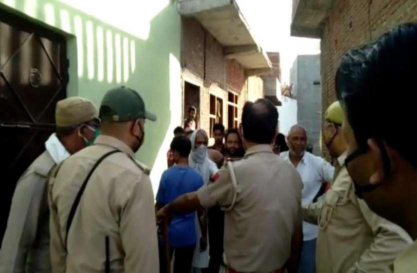 लाठी-डंडे लेकर आमने-सामने आए दो समुदाय के लोग, दिखा खौफनाक मंजर