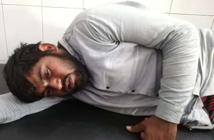 सुपर लॉकडाउन के दौरान इस जिले में 12 घंटे के भीतर हुई दूसरी मुठभेड़, बैंक का कैश बॉक्स लूटने वाला इनामी बदमाश गिरफ्तार