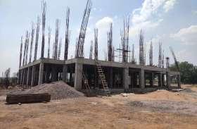 कोविड 19 : दो करोड़ खर्च होने के बाद एक साल में हेमचंद विवि के भवन का काम हुआ मात्र 20 फीसदी