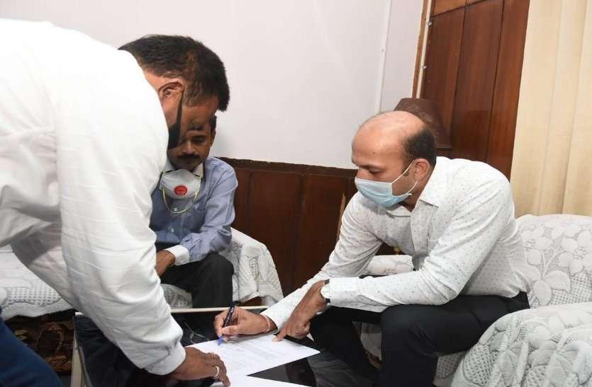 दुर्ग में डॉ. सर्वेश्वर और कवर्धा में रमेश कुमार ने नए कलेक्टर के रूप में किया पदभार ग्रहण